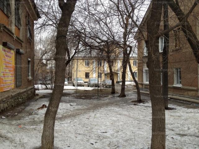 Address(es) on photo: Entusiastov street, 25, Yekaterinburg