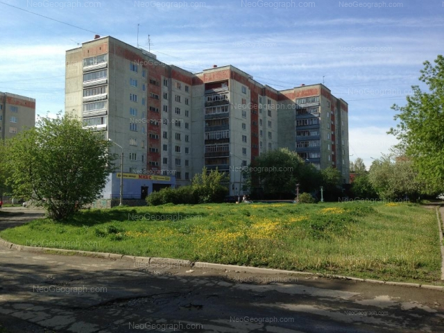 Адрес(а) на фотографии: Бисертская улица, 26, 28, Екатеринбург