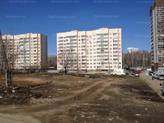 Адрес(а) на фотографии: улица Крупносортщиков, 6, 8, 10, Екатеринбург
