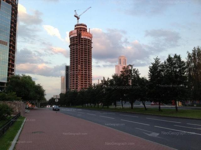Address(es) on photo: Borisa Eltsina street, 6, Yekaterinburg