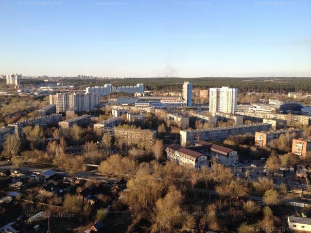 Address(es) on photo: Samoletnaya street, 1, 3/1, 3/2, 3/3, 5/1, 5/2, 5/3, 5/4, Yekaterinburg