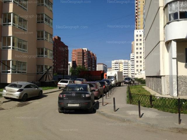 Адрес(а) на фотографии: улица Вилонова, 14а, 16, 20, 22, 22а, Екатеринбург