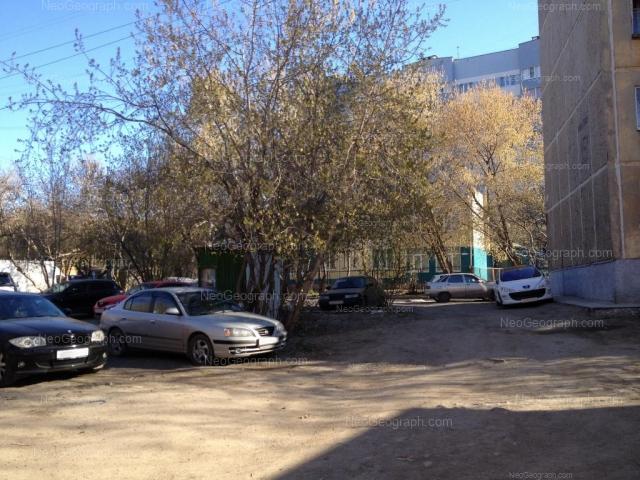Адрес(а) на фотографии: улица Пальмиро Тольятти, 11А, 13, 15А, Екатеринбург