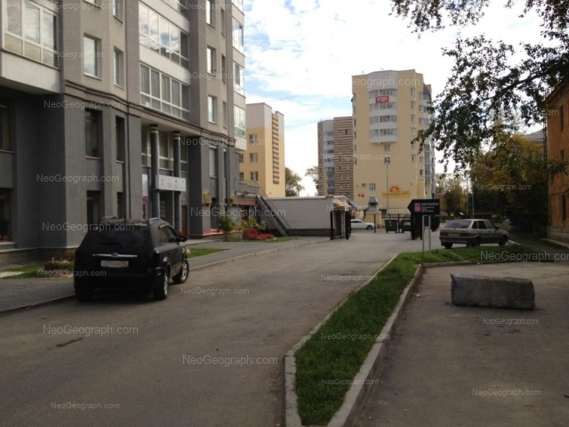 Адрес(а) на фотографии: улица Щорса, 35, 39, Екатеринбург