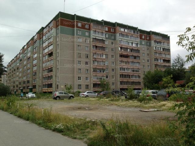 Адрес(а) на фотографии: улица Фрезеровщиков, 38, Екатеринбург