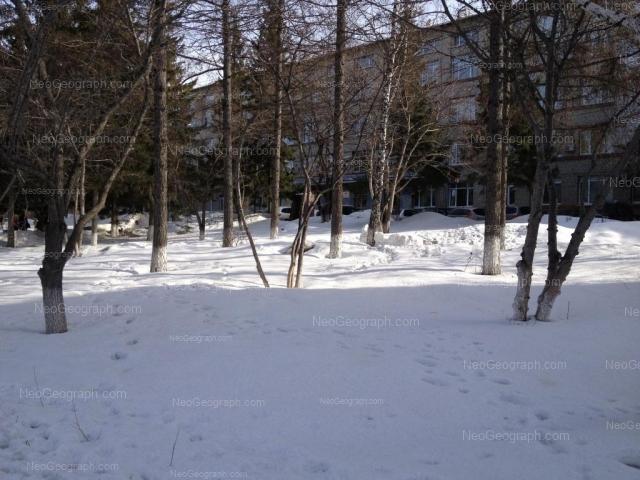 Вид на здание с адресом улица Комсомольская, 21, Екатеринбург, УрГЮА