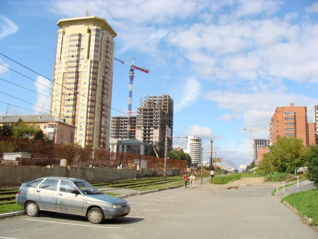 Address(es) on photo: Moskovskaya street, 54, 66, 68, 70, 76, 131, Yekaterinburg