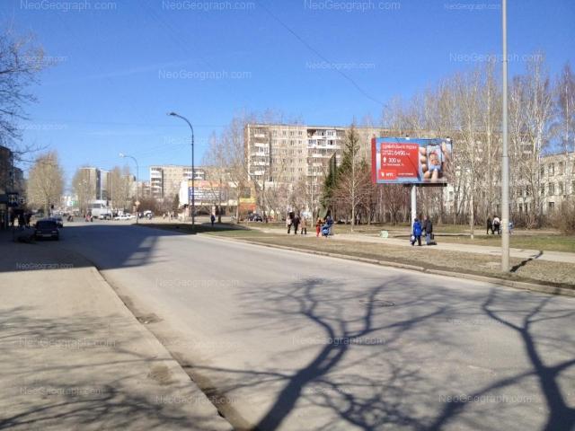 Адрес(а) на фотографии: улица Пехотинцев, 9, 13, 15, Екатеринбург