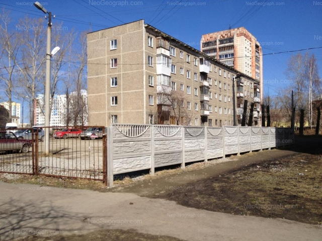 Адрес(а) на фотографии: улица Пехотинцев, 3/4, 4, 6, Екатеринбург