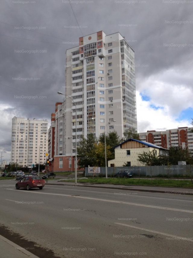 Адрес(а) на фотографии: улица Фурманова, 123, 125, 127, Екатеринбург