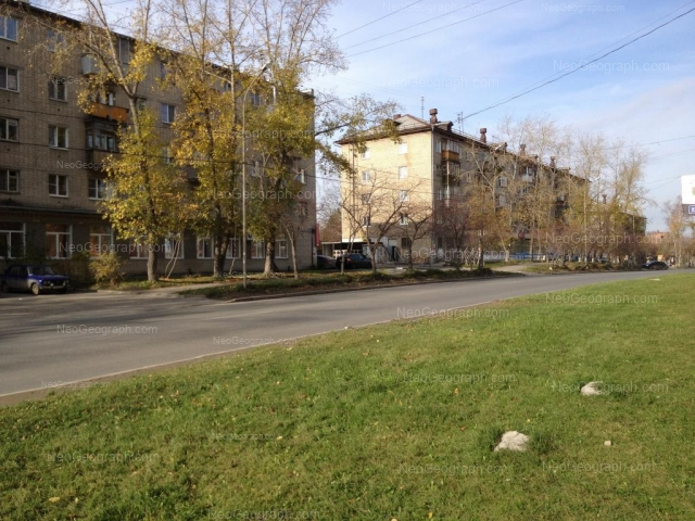 Адрес(а) на фотографии: улица 40 лет ВЛКСМ, 10, 12, 14, Екатеринбург