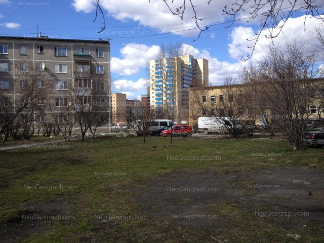 Address(es) on photo: Sulimova street, 4, Yekaterinburg