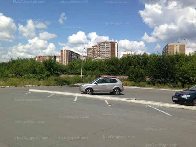Address(es) on photo: Sireneviy boulevard, 14, 16, 17, 18, Yekaterinburg