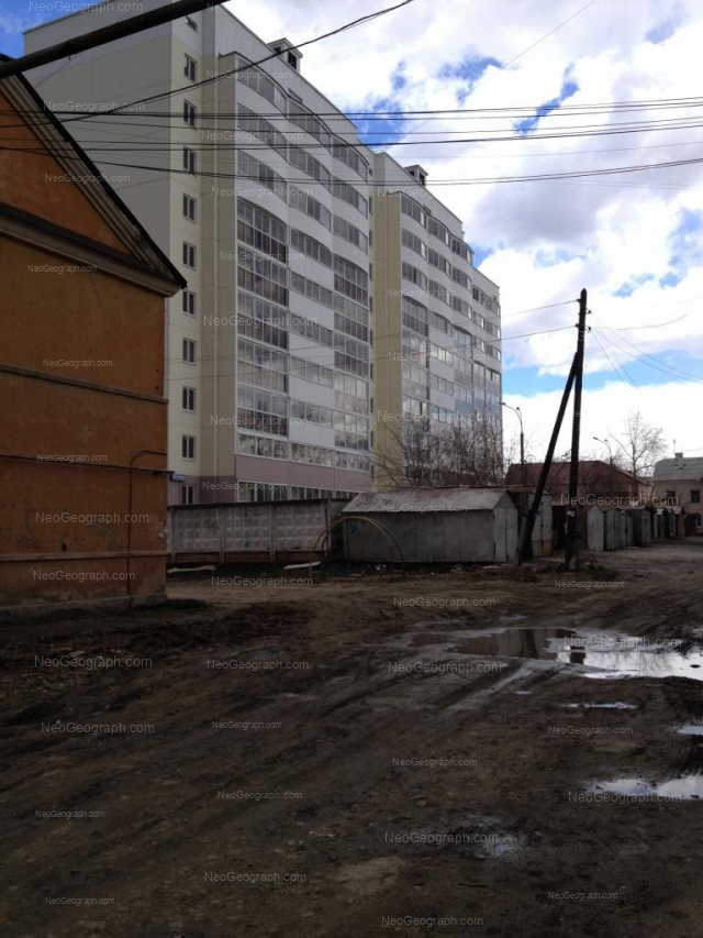 Адрес(а) на фотографии: Техническая улица, 54, 56, 58а, Екатеринбург