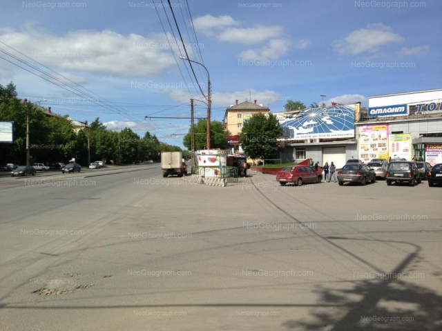 Адрес(а) на фотографии: улица XXII Партсъезда, 2, Екатеринбург