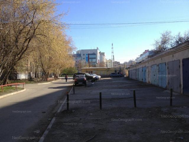 Адрес(а) на фотографии: улица Пальмиро Тольятти, 32, Екатеринбург