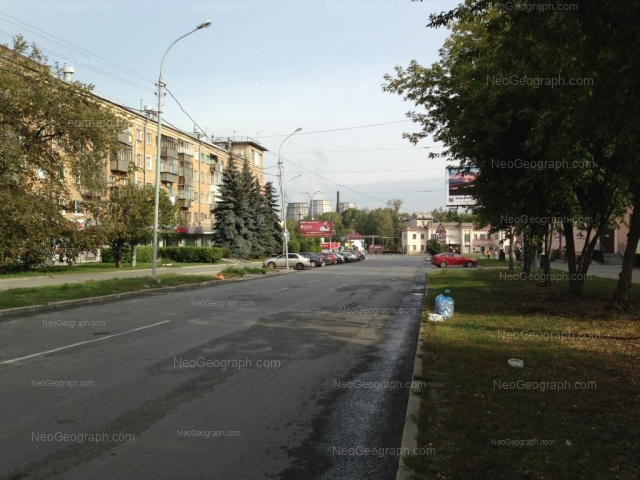 Адрес(а) на фотографии: Заводская улица, 12, Екатеринбург