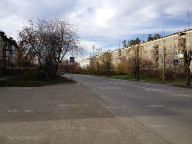 Адрес(а) на фотографии: Трактовая улица, 2, 5, 7, Екатеринбург