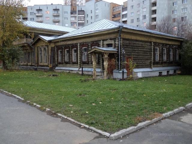 Адрес(а) на фотографии: улица Сакко и Ванцетти, 23, 25, Екатеринбург