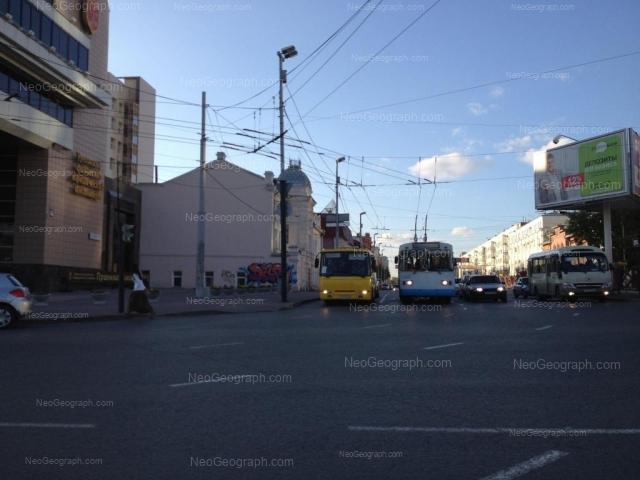 Адрес(а) на фотографии: улица Карла Либкнехта, 1, 3, 8А, 16, Екатеринбург