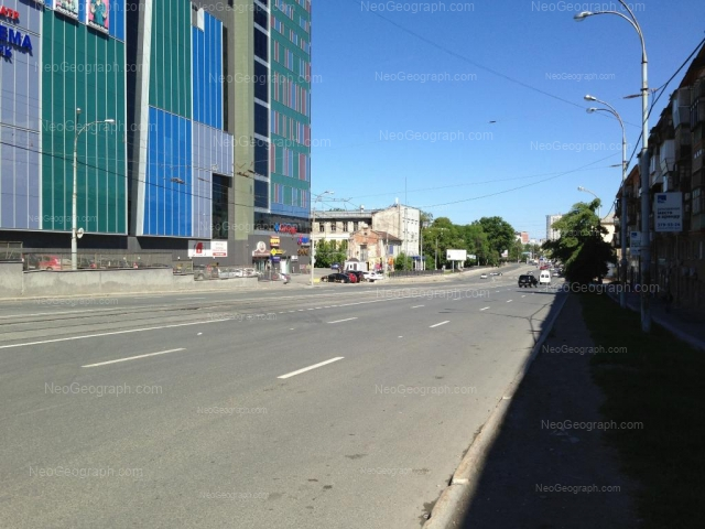Address(es) on photo: Moskovskaya street, 16, 47, 49, Yekaterinburg