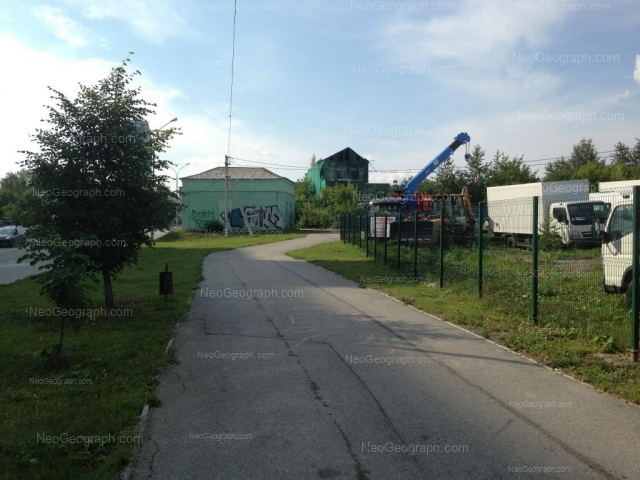 Адрес(а) на фотографии: улица Октябрьской Революции, 33а, Екатеринбург