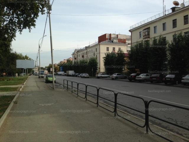 Адрес(а) на фотографии: Заводская улица, 7, 11, Екатеринбург