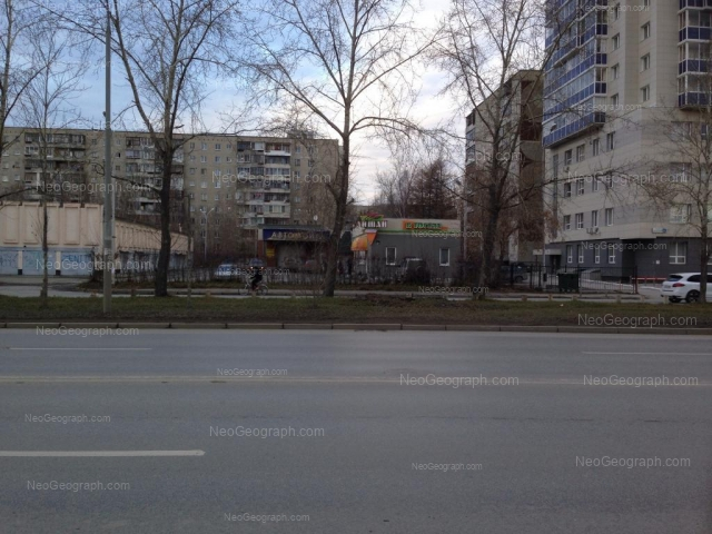 Address(es) on photo: Tkachei street, 16, 16а, 18, 20, Yekaterinburg