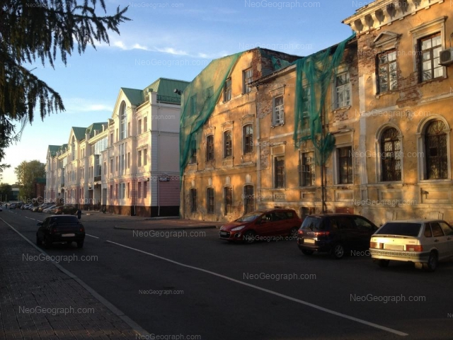 Address(es) on photo: Pervomaiskaya street, 1в, Yekaterinburg