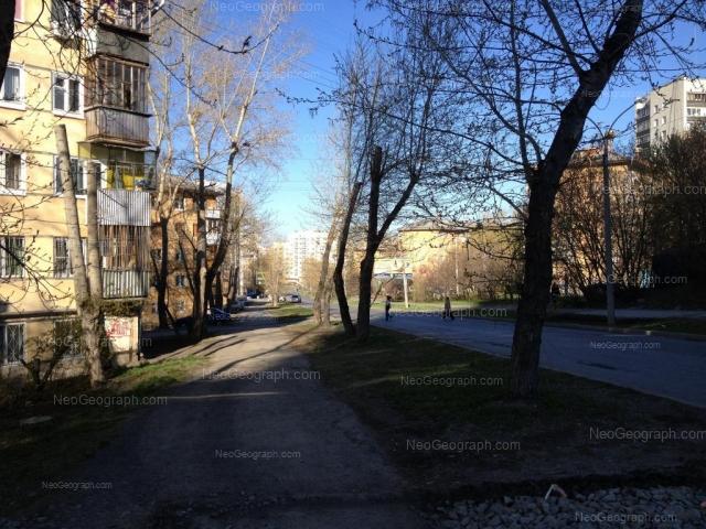 Адрес(а) на фотографии: улица Пальмиро Тольятти, 7, 9, 12, 16, Екатеринбург