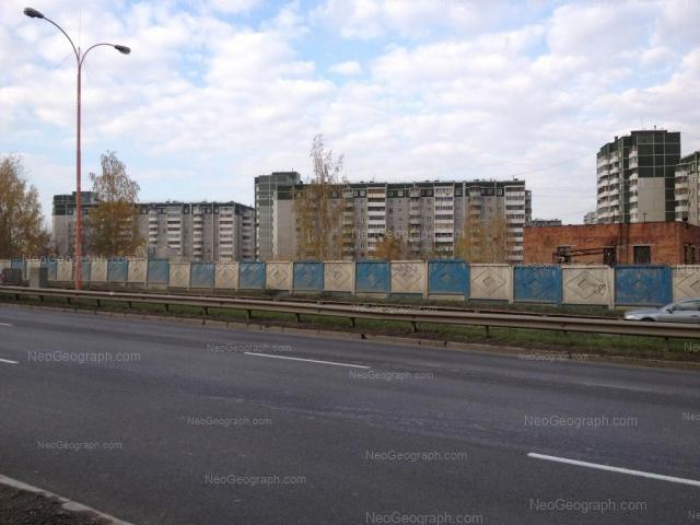 Address(es) on photo: Krestinskogo street, 51, 53, 55 к1, Yekaterinburg