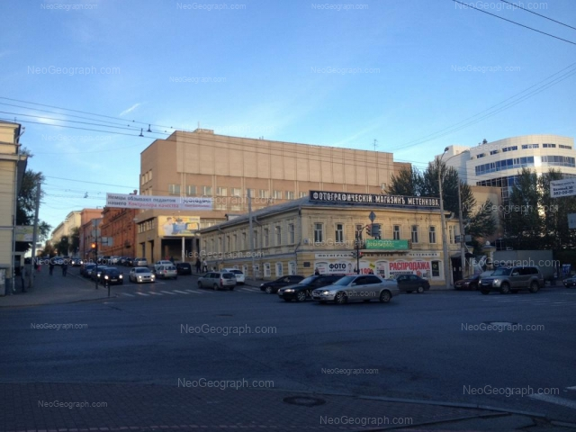 Адрес(а) на фотографии: улица Карла Либкнехта, 22, 36, Екатеринбург