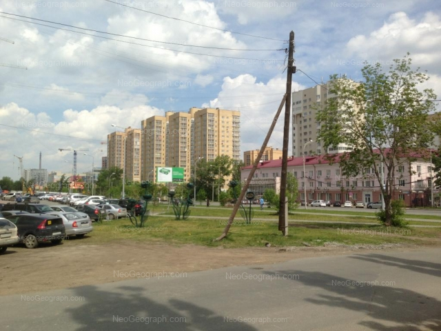 Address(es) on photo: 8 Marta street, 173, 177, Yekaterinburg