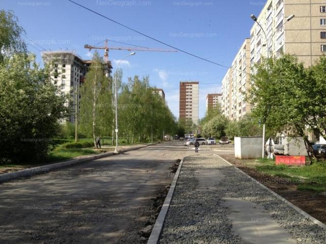 Address(es) on photo: Reshetnikova driveway, 2, 4, 6, 12, 16, Yekaterinburg