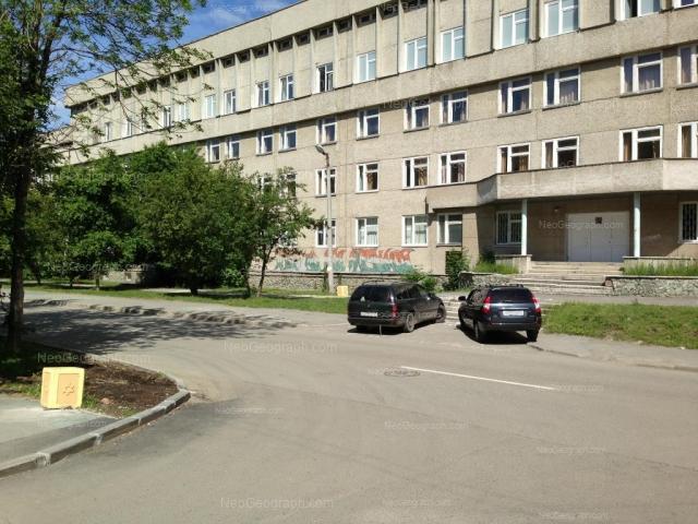 Адрес(а) на фотографии: Суворовский переулок, 4, Екатеринбург