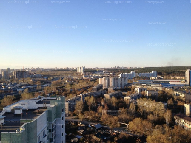 Address(es) on photo: Samoletnaya street, 1, 3/1, 3/2, 3/3, 5/1, 5/2, 5/3, 5/4, 7, 23, Yekaterinburg