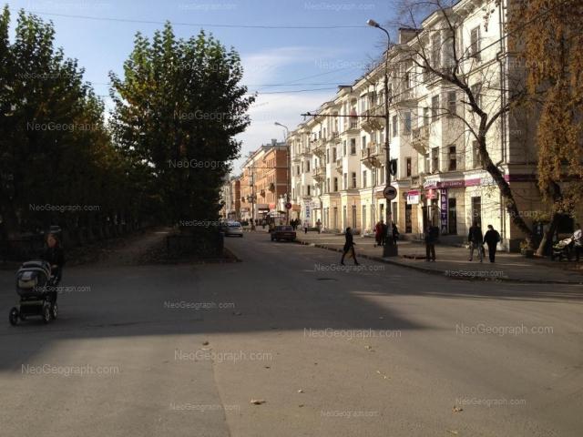 Адрес(а) на фотографии: улица Грибоедова, 21, 23, Екатеринбург