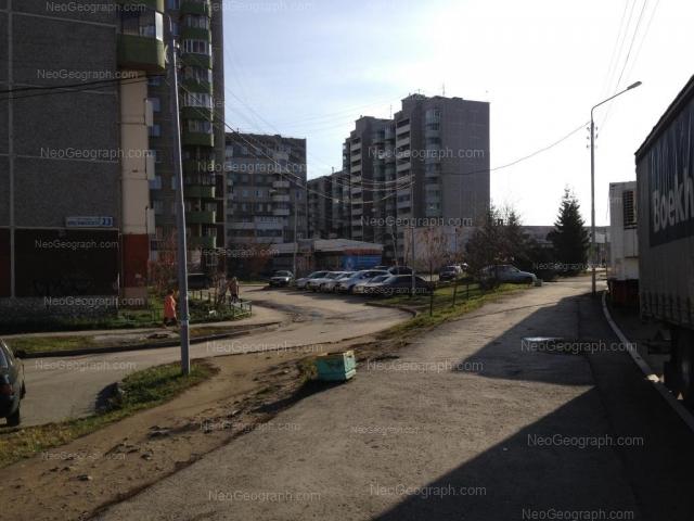 Адрес(а) на фотографии: улица Крестинского, 25, 25А, 27, 31, Екатеринбург