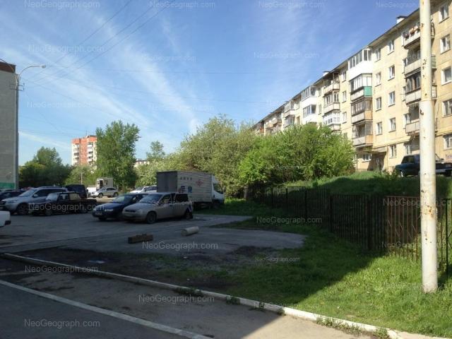 Адрес(а) на фотографии: Бисертская улица, 18, 22, Екатеринбург