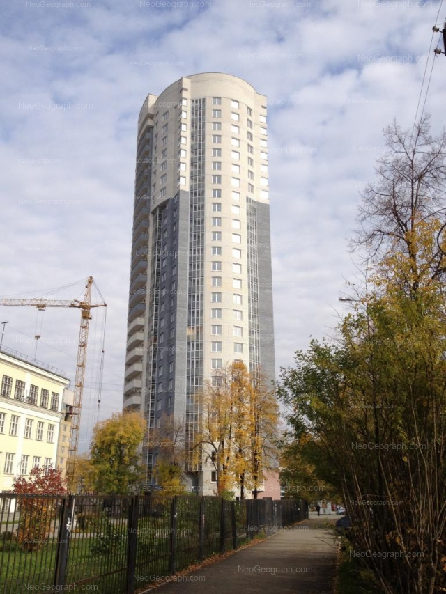 Адрес(а) на фотографии: улица Кузнецова, 5, 7, Екатеринбург