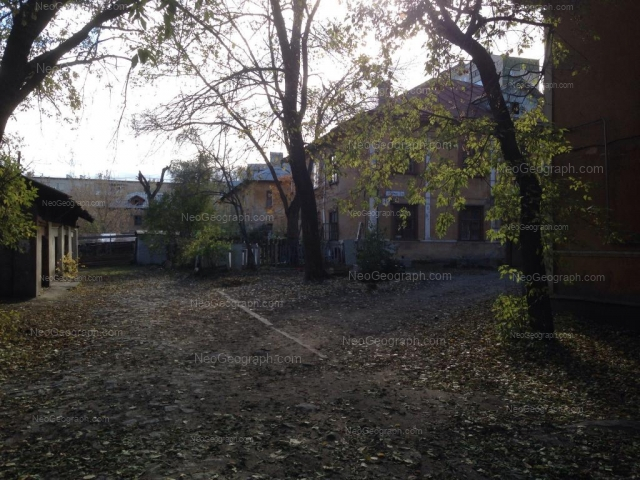 Адрес(а) на фотографии: переулок Чаадаева, 3, Екатеринбург
