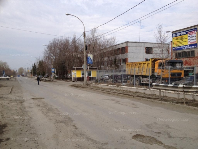 Адрес(а) на фотографии: улица Раевского, 9, 11, 13, Екатеринбург