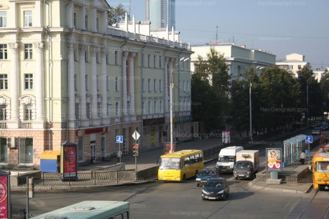Адрес(а) на фотографии: проспект Ленина, 54/1, 56, 58, Екатеринбург