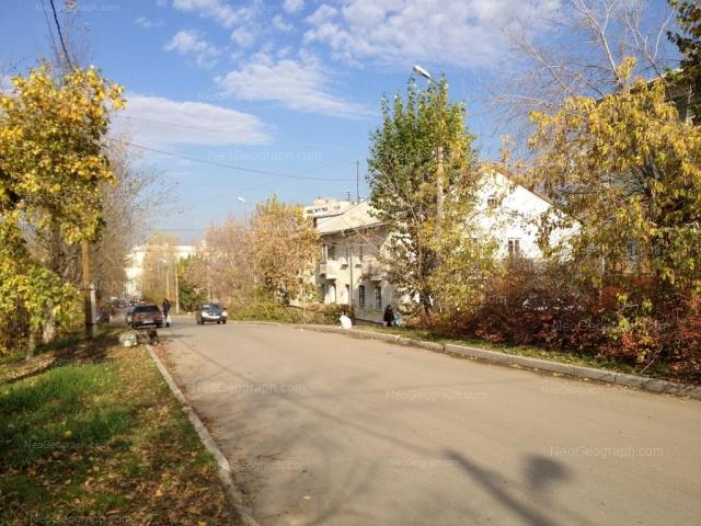 Address(es) on photo: Mnogostanochnikov lane, 8, 10, Yekaterinburg