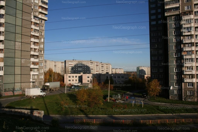Address(es) on photo: Esenina boulevard, 5, 7, 11, Yekaterinburg