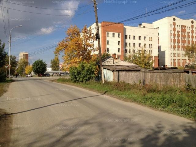 Адрес(а) на фотографии: улица Циолковского, 16, Екатеринбург