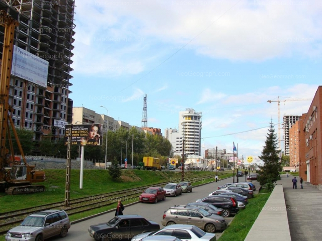 Address(es) on photo: Moskovskaya street, 54, 58, 66, 131, Yekaterinburg