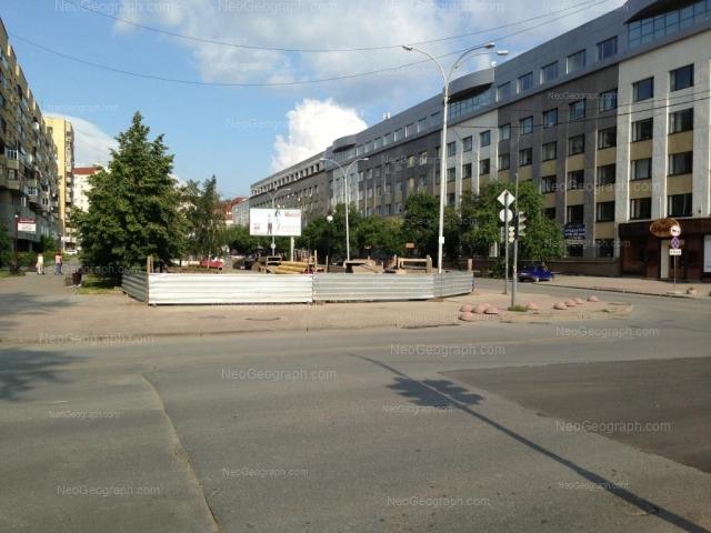 Адрес(а) на фотографии: улица Антона Валека, 13, 15, Екатеринбург