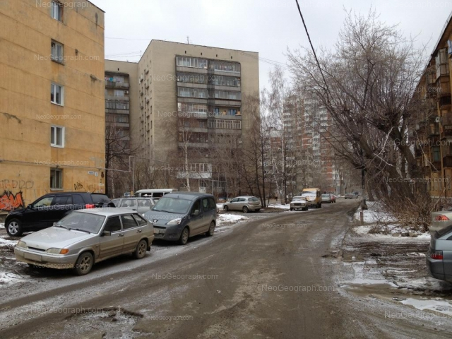 Адрес(а) на фотографии: улица Колмогорова, 56, 58, 67, Екатеринбург