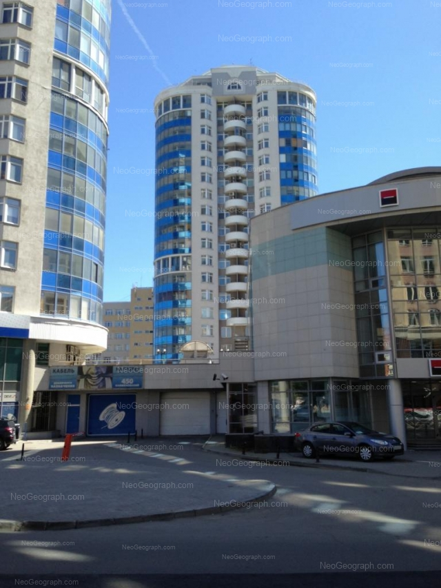 Адрес(а) на фотографии: улица Хохрякова, 39, 41, Екатеринбург